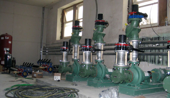 Geothermal -pumps
