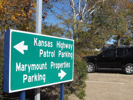 We are located next to the Kansas Highway Patrol