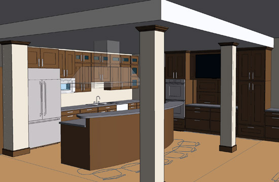 Kitchen -render